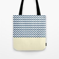 marine Tote Bags featuring MARINE by JeremyG