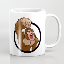 Angry gorilla cartoon Coffee Mug