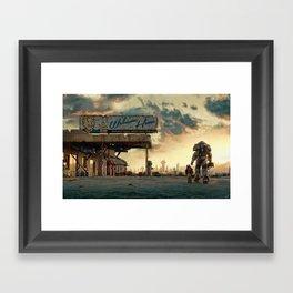 Fallout 4 - The Wanderer Framed Art Print