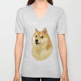 Doge Unisex V-Neck