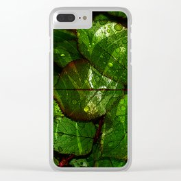 leaves V4WL Clear iPhone Case