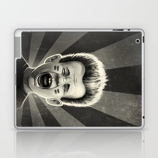 Noise Black Laptop & iPad Skin