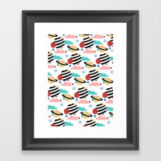 CANDY PLANET Framed Art Print
