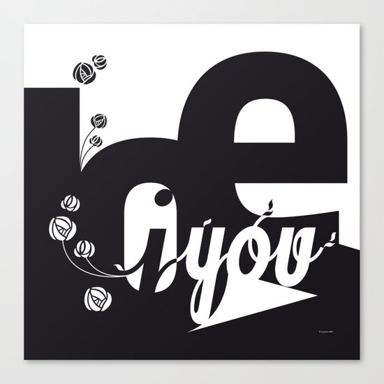 I Love You 3 Canvas Print