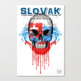 To The Core Collection: Slovakia Canvas Print