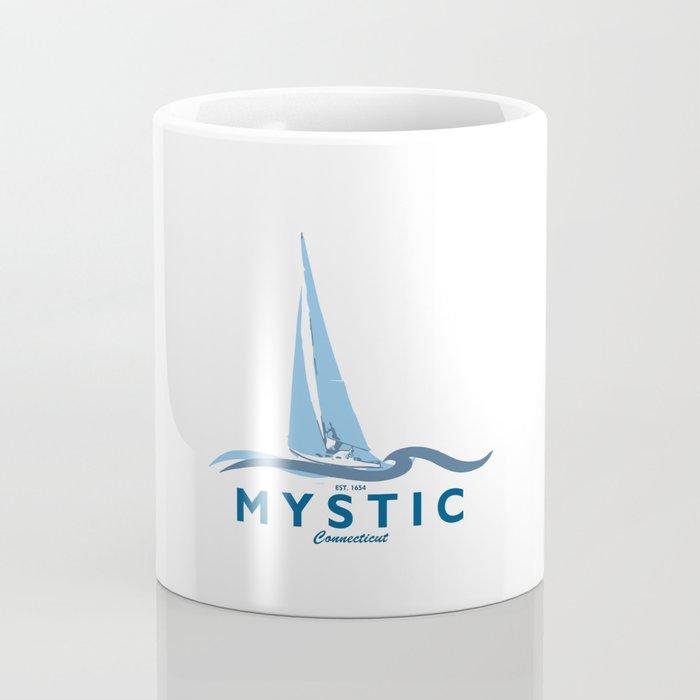 Mystic - Connecticut. Coffee Mug