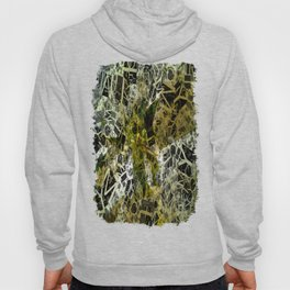 Pale Yellow Poinsettia 1 Letters 2 Hoody