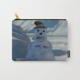 Funny Snowman Carry-All Pouch