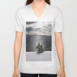 Winter Light 2 Unisex V-Neck
