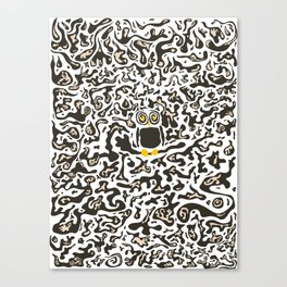 Hidden owl Canvas Print