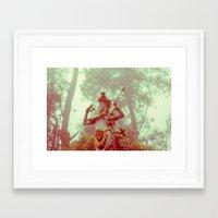 goddess Framed Art Prints featuring Goddess by Farkas B. Szabina