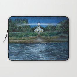 Mission Point Lighthouse Laptop Sleeve