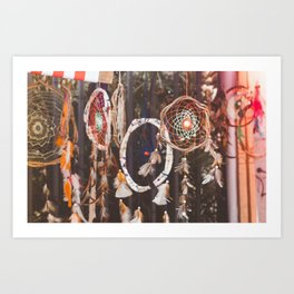 Dream Catcher (Color) Art Print