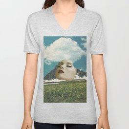Mount Rushmore Unisex V-Neck