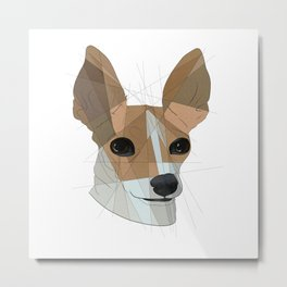 Chihuahua Pup Metal Print