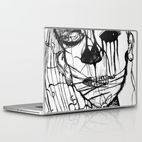 american psycho Laptop & iPad Skins featuring ~psycho by alexisdarkness