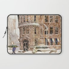 Winter in NYC Laptop Sleeve