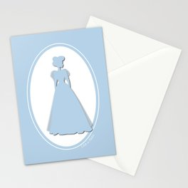 The Historical Fashion Plate Series: Victorian Miss Stationery Cards