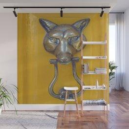 What the Fox Head Said Wall Mural