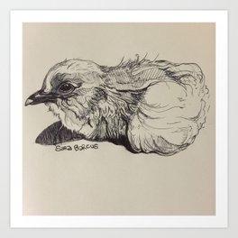 Mickey Chickey Art Print