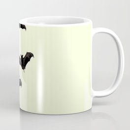 MYRIAD BLACK FLYING BATS DESIGN Coffee Mug