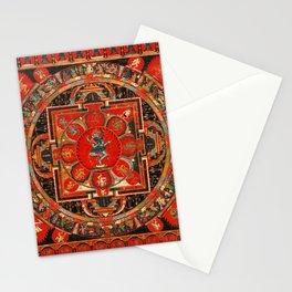 Buddhist Mandala Hevajra Nairatmya Tantra Stationery Cards