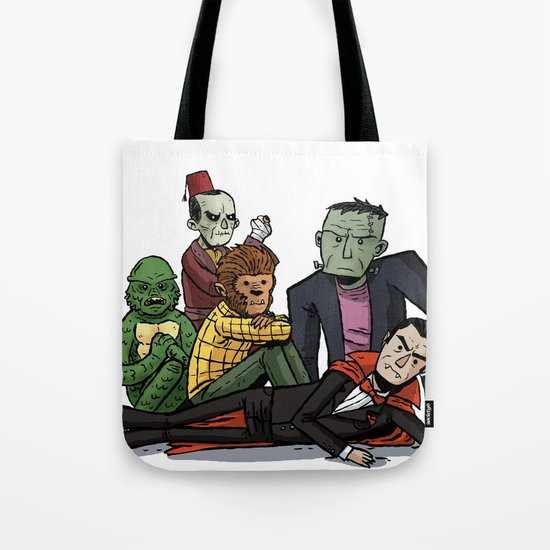The Universal Monster Club Tote Bag