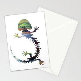 Hellbender Skeleton Stationery Cards