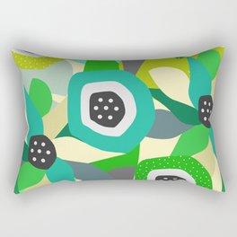Bright tropical vibe Rectangular Pillow