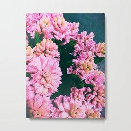 Pink Flora 1.2 Metal Print