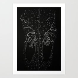 The Wizard Art Print