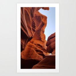 Antelope Canyon  #8 Art Print