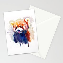 Red Panda Portrait Stationery Cards