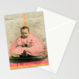 The Future's Fluo King Stationery Cards