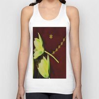 milky way Tank Tops featuring The Milky Way Pattern by Pepita Selles