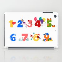 numbers iPad Cases featuring numbers by Alapapaju