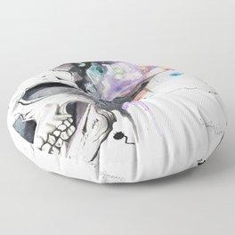 Smokin' Skull Floor Pillow