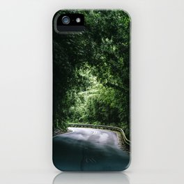Driving the Hana Highway iPhone Case