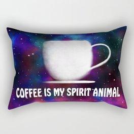 Coffee Is My Spirit Animal Rectangular Pillow