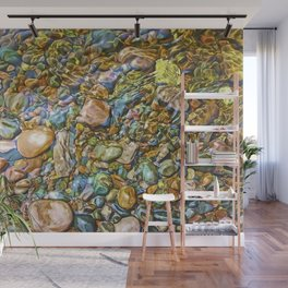 Baptism River Rocks Wall Mural