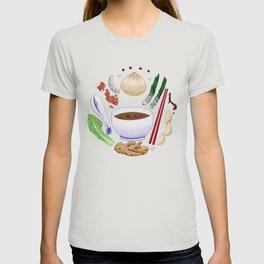 Dumpling Diagram T-shirt