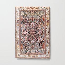Sarouk Arak West Persian Rug Print Metal Print