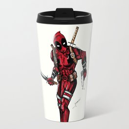 Wade Wilson. Merc with a mouth Travel Mug