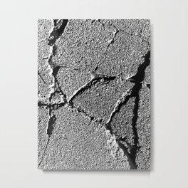 The Image Has Crack'd part 5 Metal Print