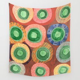 The Green Core Combines Wall Tapestry