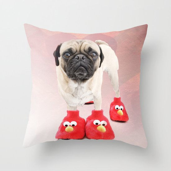 You don't have a pair or two too? Throw Pillow