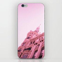 Pink Madrid iPhone Skin
