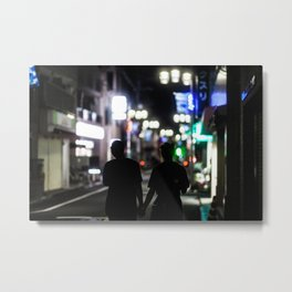 Little Honmachi Metal Print