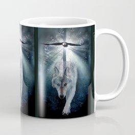 The Gathering - Wolf and Eagle Coffee Mug