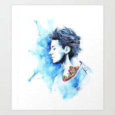 Louis #2 Art Print